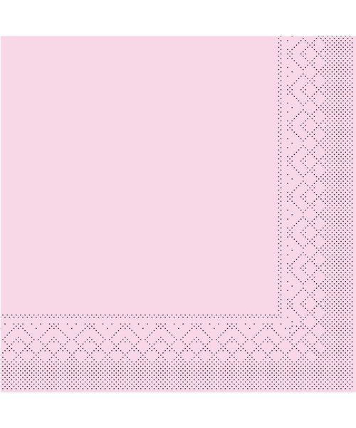 Servet Tissue 3 laags Roze 40x40cm 1/4 vouw bestellen