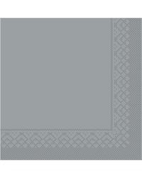 Servet Tissue 3 laags Grijs 33x33cm 1/4 vouw bestellen