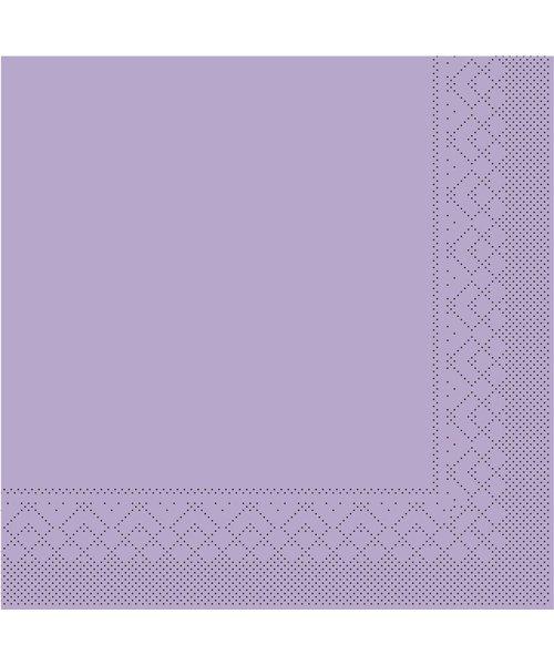 Servet Tissue 3 laags Lila 33x33cm 1/4 vouw bestellen