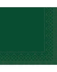 Servet Tissue 3 laags Groen 33x33cm 1/4 vouw bestellen