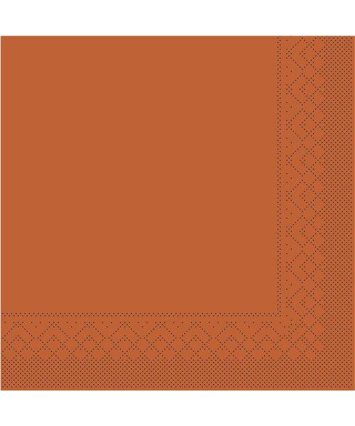 Servet Tissue 3 laags Terra 33x33cm 1/4 vouw bestellen