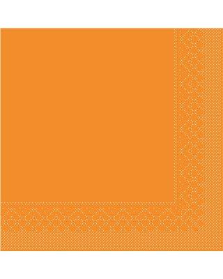 Servet Tissue 3 laags 33x33cm 1/4 vouw Uni Curry