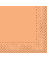 Servet Tissue 3 laags Abrikoos 33x33cm 1/4 vouw bestellen
