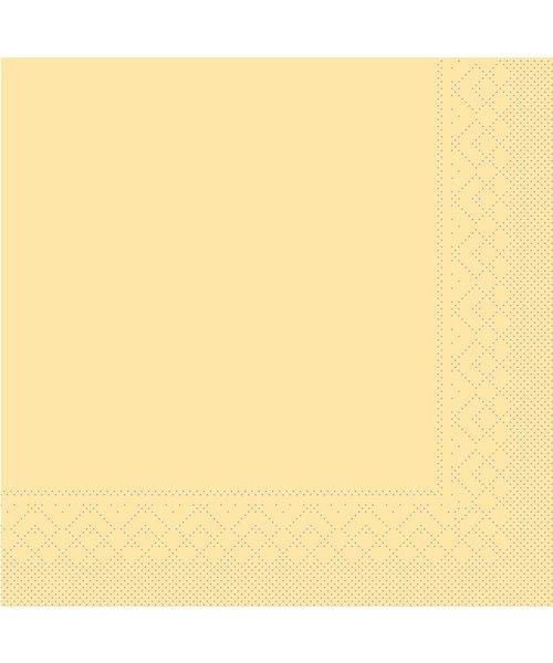 Servet Tissue 3 laags Creme 33x33cm 1/4 vouw bestellen