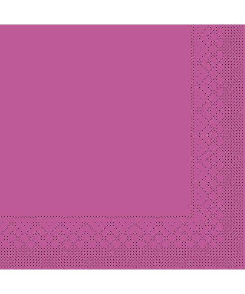 Servet Tissue 3 laags Violet 33x33cm 1/8 vouw bestellen