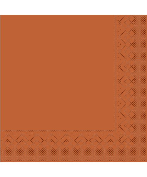 Servet Tissue 3 laags Terra 33x33cm 1/8 vouw bestellen