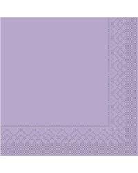 Servet Tissue 3 laags Lila 40x40cm 1/8 vouw bestellen