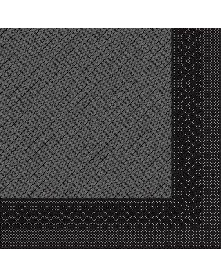 Servet Tissue Deluxe 4 laags 40x40cm Uni Zwart