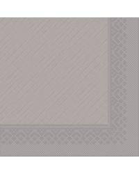 Servet Tissue Deluxe 4 laags Grijs 40x40cm bestellen