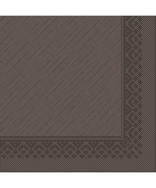 Servet Tissue Deluxe 4 laags Bruin 40x40cm bestellen