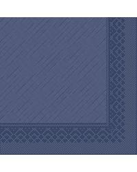Servet Tissue Deluxe 4 laags Blauw 40x40cm bestellen