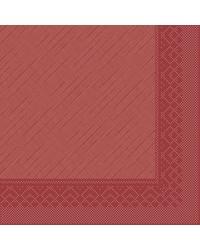 Servet Tissue Deluxe 4 laags Bordeaux 40x40cm bestellen