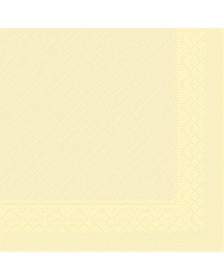 Servet Tissue Deluxe 4 laags 40x40cm Uni Creme