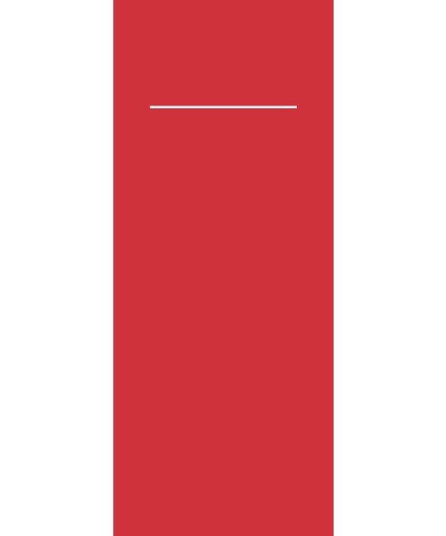 Pocket napkin Pub Airlaid Rood 40x33cm 55gr 1/8 vouw bestellen