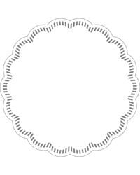 Onderzetters rond Wit 90mm, 8 laags bestellen