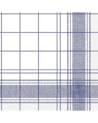 Servet Tissue 3 laags Nadeem Blauw 40x40cm