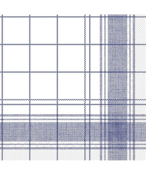 Servet Tissue 3 laags Nadeem Blauw 40x40cm bestellen