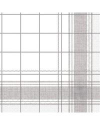 Servet Tissue 3 laags Nadeem Grijs 40x40cm bestellen