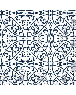 Servet Tissue 3 laags Claudio Blauw 40x40cm