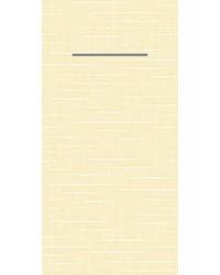 Pocket napkin Airlaid Stockholm Beige 40x40cm  65 Gr 1/8 vouw bestellen