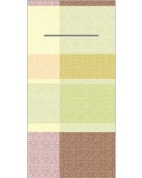 Pocket napkin Airlaid Marc Oranje/Rood 40x40cm  65 Gr 1/8 vouw bestellen