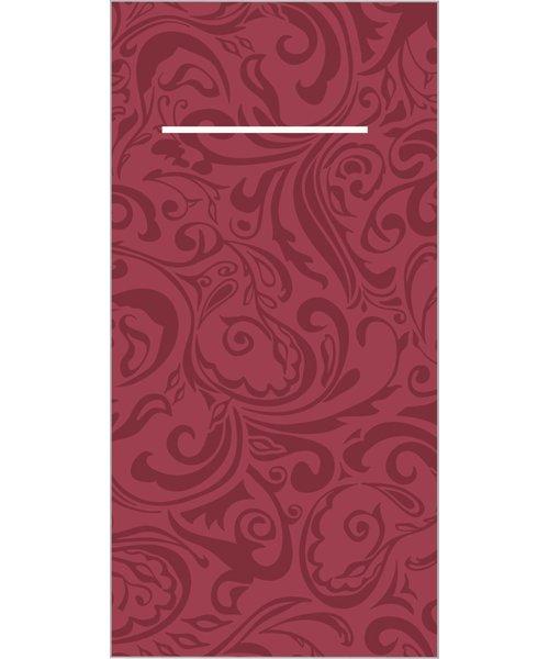Pocket napkin Airlaid Lias Bordeaux 40x40cm 65Gr 1/8 vouw bestellen