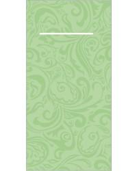 Pocket napkin Airlaid Lias Pistache 40x40cm 65Gr 1/8 vouw  bestellen
