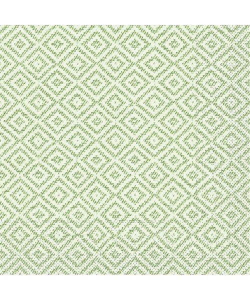 Servet Tissue 3 laags Lagos Base Groen 33x33cm bestellen