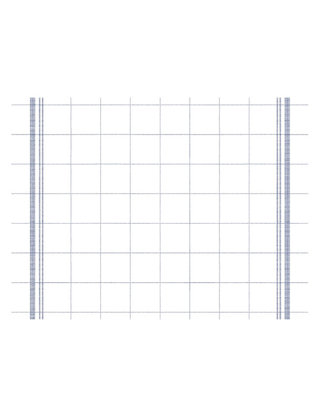 Placemat Airlaid Bill Blauw 40x30