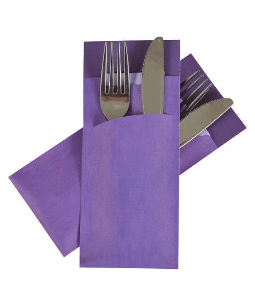 Bestekzakje Marble Purple  POCH 011 bestellen
