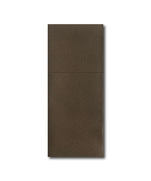 Airlaid Pochette Professional met bestekvouw Bruin bestellen