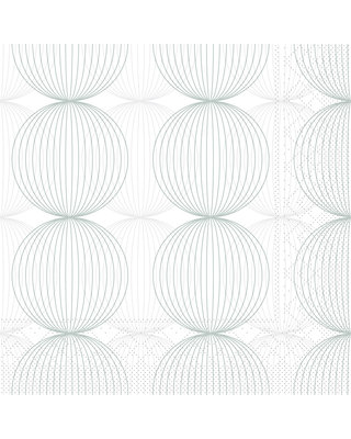 Servet Tissue 3 laags Ludo Grau 40x40cm