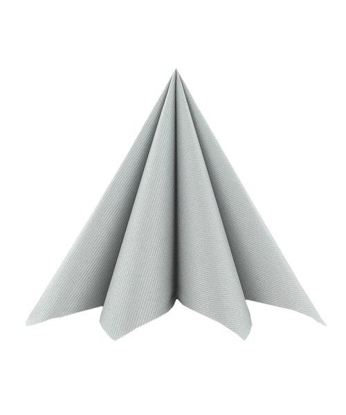 Servet Airlaid 24x24cm uni Zilver kopen
