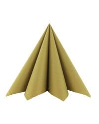 Servet Airlaid Goud 24x24cm kopen