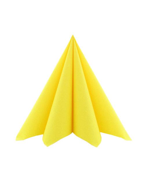 Servet Airlaid Geel 24x24cm kopen