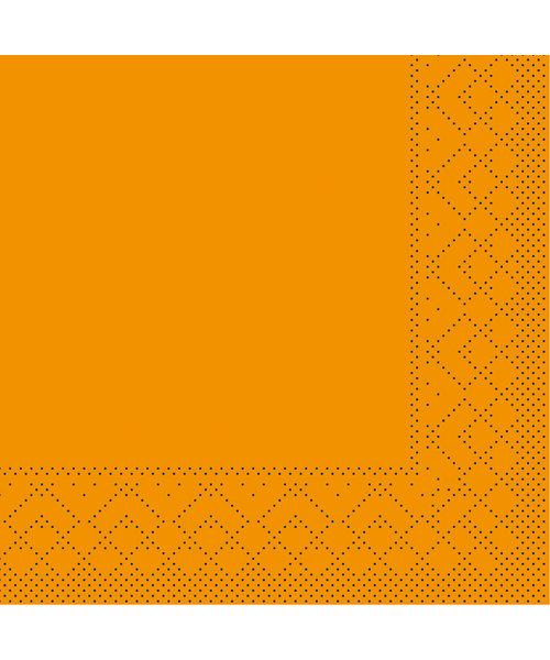 Servet Tissue 3 laags Curry 24x24cm 1/4 vouw bestellen