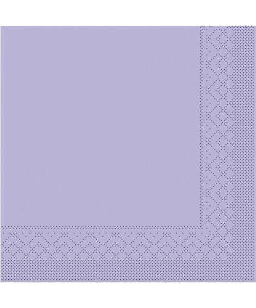 Servet Tissue 3 laags 20x20cm 1/4 vouw Uni Lila bestellen