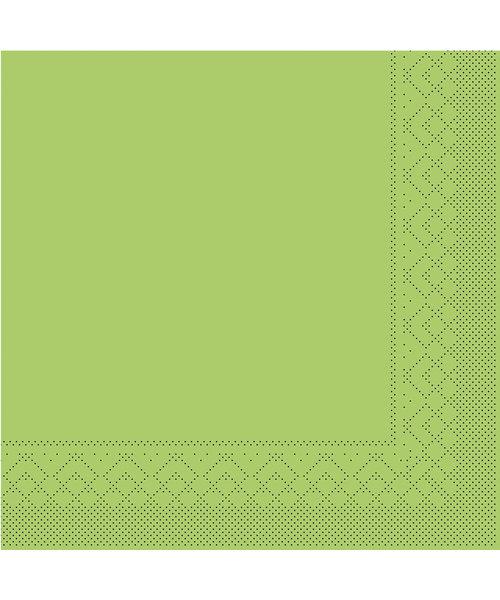 Servet Tissue 3 laags 20x20cm 1/4 vouw Uni Kiwi bestellen