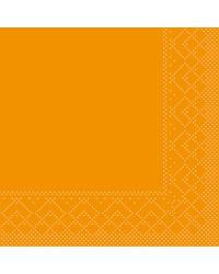 Servet Tissue 3 laags 20x20cm 1/4 vouw Uni Curry bestellen