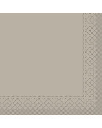 Servet Tissue 3 laags Beige/Grijs 40x40cm 1/4 vouw bestellen