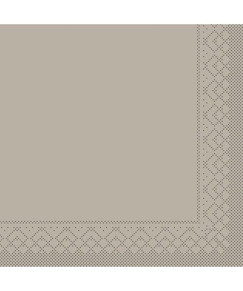 Servet Tissue 3 laags Beige/Grijs 40x40cm 1/8 vouw bestellen