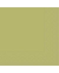 Servet Tissue 3 laags Olijf 33x33cm 1/4 vouw bestellen