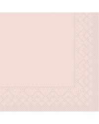 Servet Tissue 3 laags Oudroze 40x40cm 1/4 vouw bestellen
