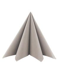 Servet Softpoint 40x40cm Uni Beigegrijs 1/4 vouw kopen