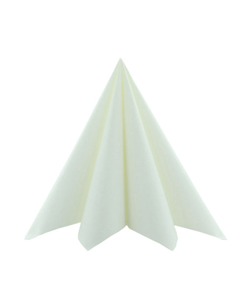 Servet Softpoint 40x40cm Uni Wit 1/8 vouw kopen