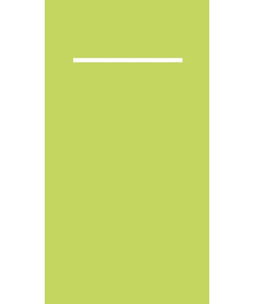 Pocket napkin Pub Airlaid Lime 40x33cm 55gr 1/8 vouw bestellen