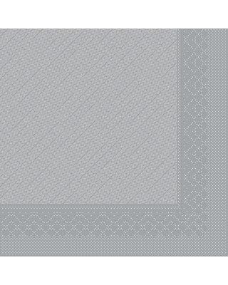 Servet Tissue Deluxe Light 3 laags 40x40cm Uni Grijs