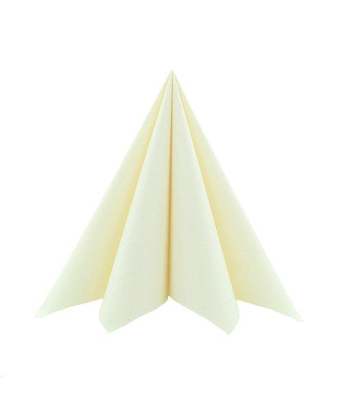 Cocktail Servet Softpoint  17x17cm uni Creme kopen