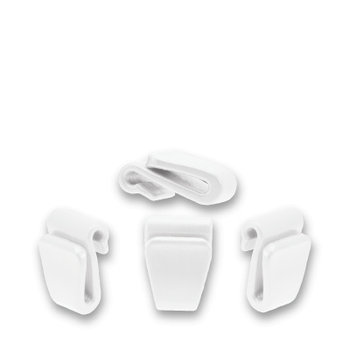 X Strap Clip Set (Fits 2015/2016 Tyke, Prodigy, Air, Carbon) White