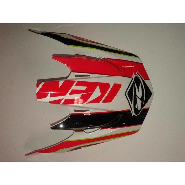 Track Helmet Peak 2015 Adult Red/Black